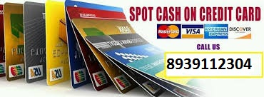 spotcash on credit card
